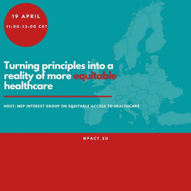 Turning principles into a reality – for more equitable healthcare across Europe